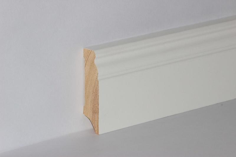 Sockelleiste massiv Kiefer Altberliner Profil 18x115mm