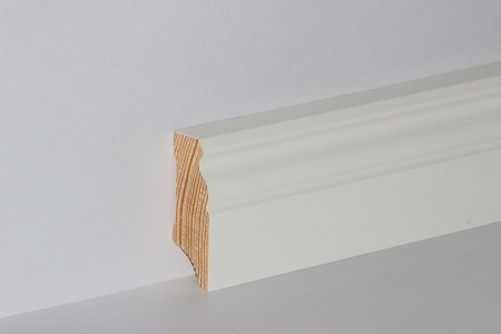 Sockelleiste massiv Kiefer Altberliner Profil 18x58mm